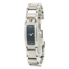 MOVADO 84 H4 1400 ELIPTICAL GREY DIAL STAINLESS STEEL QUARTZ WOMENS WATCH
