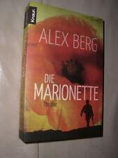 Die Marionette von Alex Berg (2011, Taschenbuch)