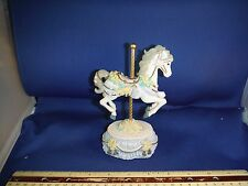 """Heritage House Melodies County Fair Carousel Horse """"Let Me Call You Sweetheart"""""""