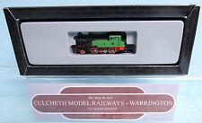 MARKLIN MINI-CLUB 'Z' GAUGE 88952 GREEN T9 TANK LOCO BOXED #135W