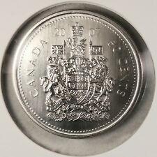 2007 CANADA 50 CENT SPECIMEN FROM SET