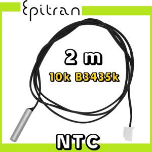 Sonda sensore resistenza termistore ntc 10k 2m temperatura impermeabile acciaio