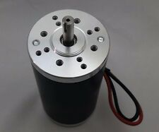 12V-DC 10000-RPM Fast Electrical-Motor Servo CNC Project 8mm-Keyed-Shaft 1/4-HP