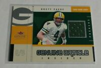 R15,479 - BRETT FAVRE - 2003 FLEER GENUINE - ARTICLE JERSEY - PACKERS -