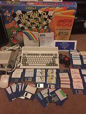 Mint Commodore Amiga A600 Boxed + Ram Upgrade + Games + Joy Pad Etc