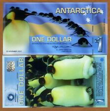 Antarctica, $1, 2007, Polymer -> First Issue