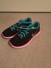 Nike Trainers 3 36 New Black Pink Blue