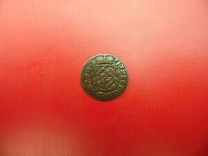 BASE METAL COIN BELGIUM PROVINCIAL LIEGE LIARD 1750 (Ref:B3)