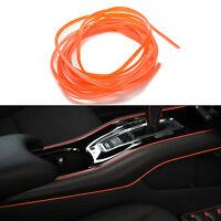 5M Orange Car-Styling Trim Strips Interior Sticker&Decals Door Accessories IY