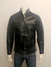 Buco American Safety Medina Ohio 44256 Vinyl Faux Leather Cafe Racer. Size Med