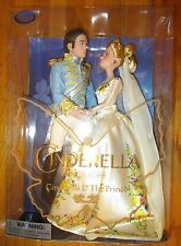 Disney Store Cinderella & The Prince Live Action Movie Doll Set Film Collection