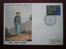 ARMY COVER EARLY GURKHA UNIFORM NATIONAL ARMY MUSEUM GRP 2 COVER 11