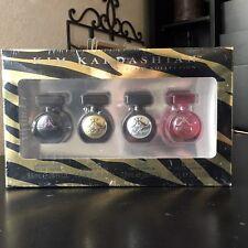 KIM KARDASHIAN* 4pc Set KOFFRET KOLLECTION Fragrance EAU DE PARFUM Mini Splash