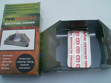 Fire Dragon -  Solid Fuel Tablets - Cooker - Hexi Cooker - Hexi Replacement