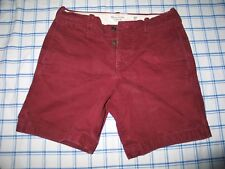 Abercrombie and Fitch Prep Shorts Shorts Burgundy Casual shorts Size 30 Men