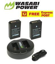 Wasabi Power Battery (2-Pack) and Dual USB Charger for Nikon EN-EL20, EN-EL20a