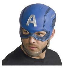 MARVEL CIVIL WAR DELUXE Licensed CAPTAIN AMERICA Helmet MASK COSTUME Prop