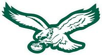 Philadelphia Eagles Decal ~ Car / Truck Vinyl Sticker - Wall Graphics, Cornholes