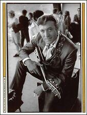 Carl Perkins circa 1969 with Epiphone Emperor E112T guitar pin-up photo print