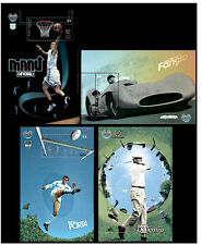 (2008) Idols of Sports. Complete 4-Mini sheet set. MNH. Excellent condition.