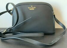 Pre-owned Kate Spade Peggy Patterson Drive Leather Crossbody Bag Black