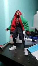 Air Jordan 1's Miles Morales Marvel Legends Unpainted SHOES ONLY 1/12