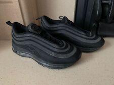 Nike Air Max 97 Ultra 17 Triple Black Trainers Size 6