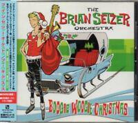 BRIAN SETZER Boogie Woogie Christmas JAPAN CD W/OBI 1 Bonus Track TFCK87293