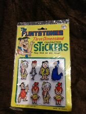 THE FLINTSTONES PEWTER 4 PC.BAND  HATPIN SET #107 NOS FREE SHIPPING IN USA