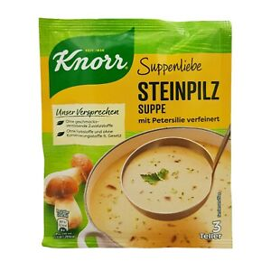 6x Knorr Suppenliebe 🍲 Steinpilz Suppe porcini soup ✈TRACKED SHIPPING