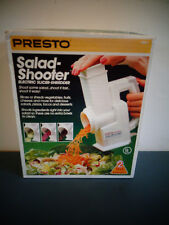 VINTAGE PRESTO 02910 SALAD SHOOTER ELECTRIC SLICER SHREDDER NEW IN SEALED BOX
