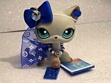 Littlest Pet Shop Clothes LPS Accessories Custom Outfit Blue Diamond NO CAT/DOG