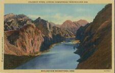 Colorado River from BOULDER DAM Recreational Area LINEN