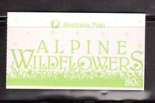 AUSTRALIA 1986 80c Alpine Flowers booklet MUH