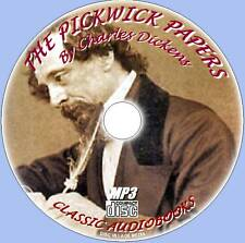 THE PICKWICK PAPERS Charles Dickens Audiobook MP3 CD English Classic novel NEW