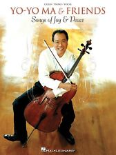 Yo-Yo Ma & Friends Songs of Joy & Peace Christmas Piano Cello Sheet Music Lyrics