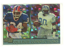 1993 Pro Set College Connections #1 Thurman Thomas/Barry Sanders Oklahoma St.