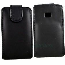 New Magnetic Flip Leather Hard Protective Skin Case Cover For LG Optimus L3 E400
