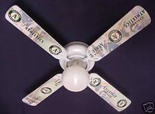 "New Mlb Oakland Athletics A's Baseball Ceiling Fan 42"""