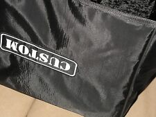 Custom padded cover for PEAVEY Bandit 112 Solo circa '81 model teal/blue stripe