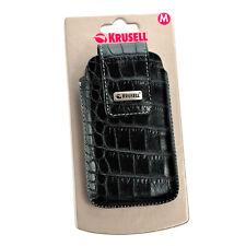 Krusell Vinga Croco Handytasche für iPhone 3G / 3GS, croco/schwarz, Case