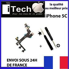 NAPPE BOUTON POWER VOLUME VIBREUR ON/OFF POUR IPHONE 5S NEUF + OUTILS