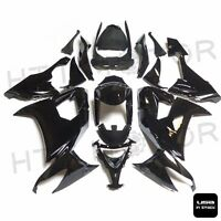 HTTMT Black INJECTION Fairing Kit Fit Kawasaki ZX-10R 2009 2008-2010 004 VV