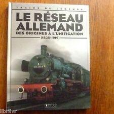 Trains de légende Ed Atlas N°16 LE RESEAU ALLEMAND  (1835-1919)