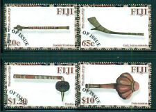 FIJI 1265-68 Used 2011 War Clubs set of 4 Cat$14