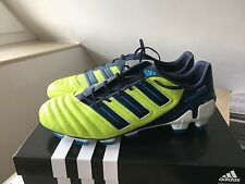 ADIDAS PREDATOR ADIPOWER 45 1/3 UK 10,5 US 11 TRX FG NUOVO NEW mania LEATHER