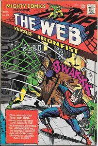 MIGHTY COMICS PRESENTS #40 The Web  1966 Radio Comics / Archie