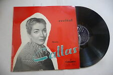 """MARIA CALLAS """"RECITAL -disco 33 giri COLUMBIA Italy"""""""