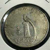 Centavos de  Quetzal 5 Pcs Coin Set-Mint-UNC Guatemala 5-10- 25-50-1-