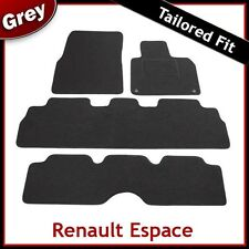 RENAULT ESPACE 2003 2004 2005 2006 2007...2012 Tailored Carpet Car Mats GREY